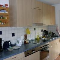 Küche voll ausgetattet