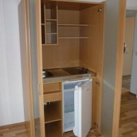 Praktisch verschließbarer Kochbereich